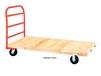 TONGUE AND GROOVE HARDWOOD DECK PLATFORM TRUCKS